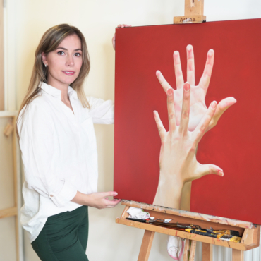 Ваш Ответ COVID-19: художник Анастасия Шимшилашвили