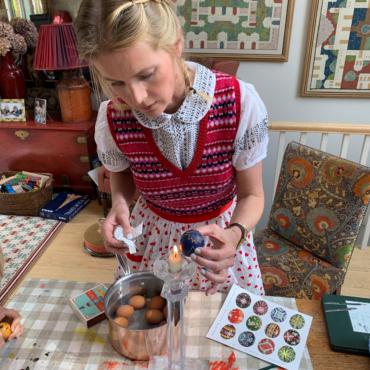 Русско-английские пасхальные традиции Александры Толстой
