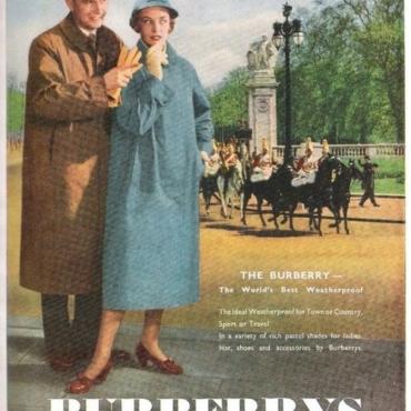Burberry:от пальто-тренч до национального символа