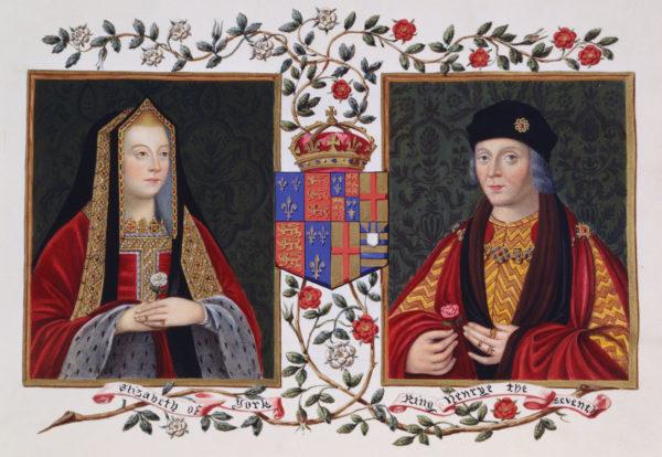Венчание Елизаветы Вудвилл и Эдуарда IV