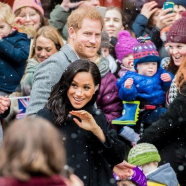 Два года в фотографиях: годовщина принца Гарри и Меган Маркл