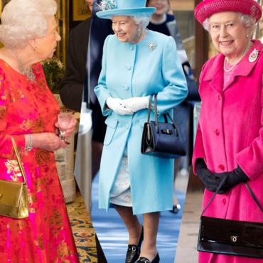 Launer — любимая сумка Елизаветы II
