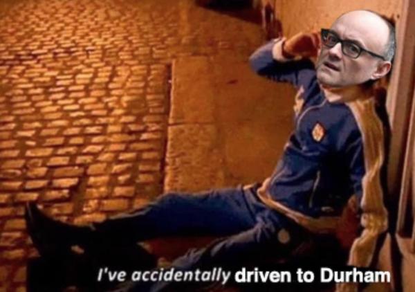 Мем про Доминика Каммингса