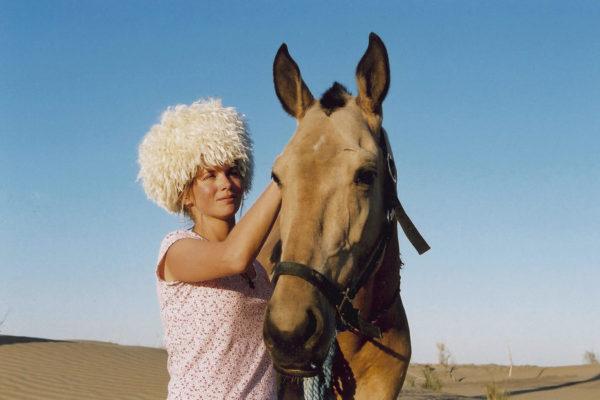 Александра в Туркменистане