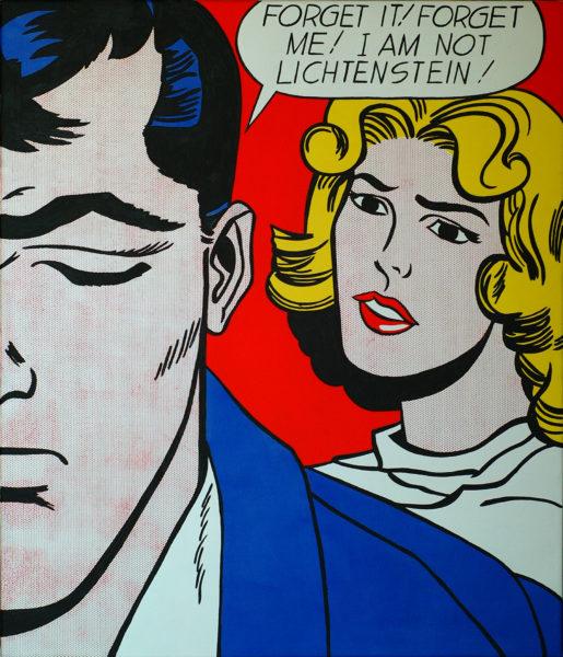 I am not Lichtenstein