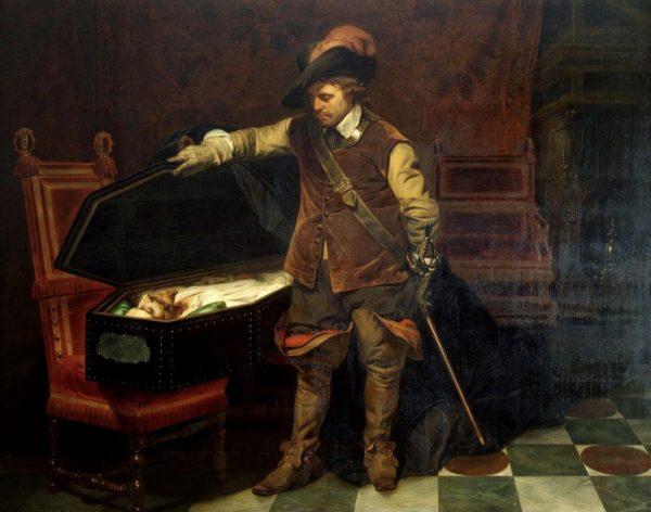 Оливер Кромвель инициировал казнь короля Карла Первого