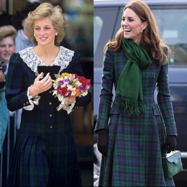 7 раз, когда Кейт Миддлтон копировала образы Принцессы Дианы