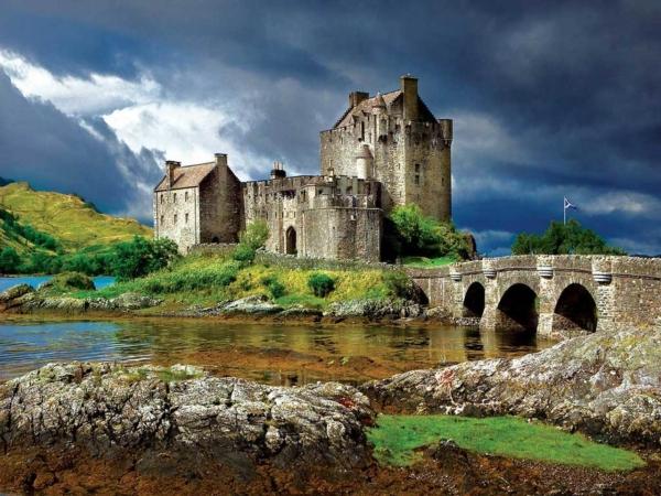 Замок Эйлен-Донан, Шотландия