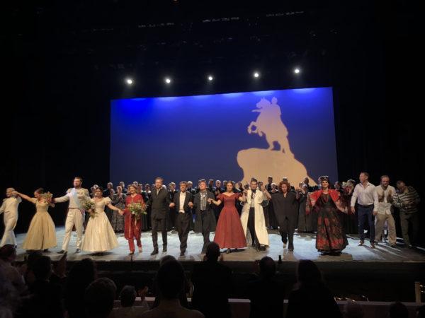 12 июля 2018. Премьера оперы PUSHKIN в Grange Park Opera