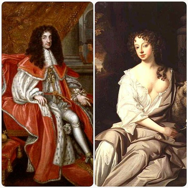 Нелл Гвин и Карл II