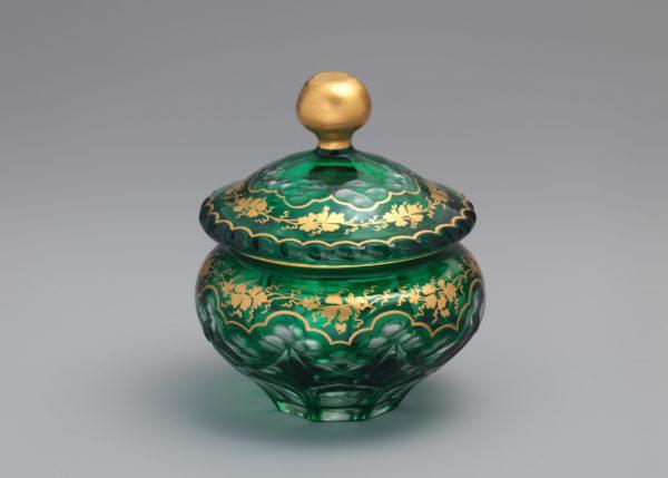 Баночка для пудры, 1866-70 годы