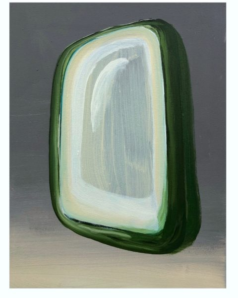 Green Illuminator, 2020, Acrylic on canvas