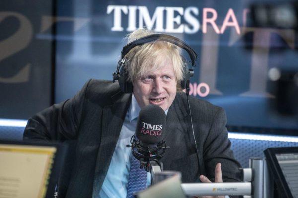 на Times Radio гостем был Борис Джонсон