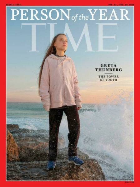 Греты Тунберг обложка TIME