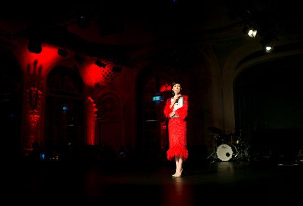 Выступление Чулпан Хаматовой на гала-вечере фонда Gift of Life