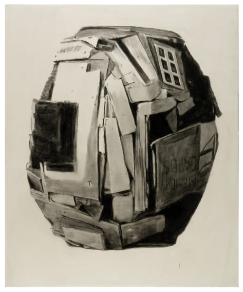 Kolobok, 2010, Acrylic, oil on canvas