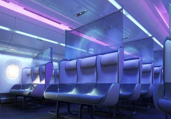 Салон антивирусного самолета