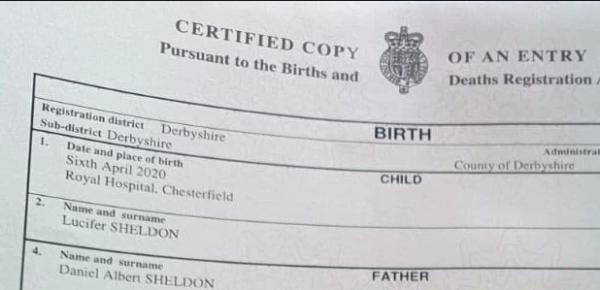 Право назвать сына Люцифером