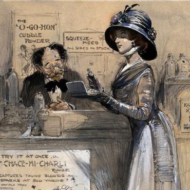 От свинцовых белил до зубной пасты из угля: опасная косметика викторианской эпохи