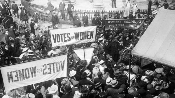 Женщины боровшиеся за свои права