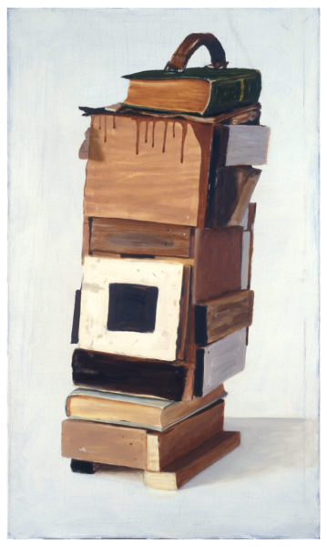 My luggage, 2008, Oil on canvas