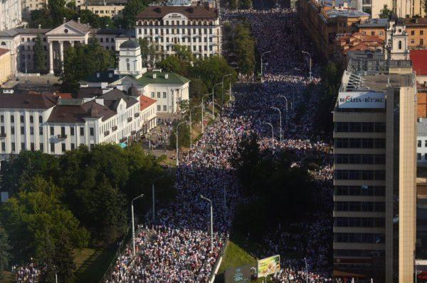 Марш в Беларуси