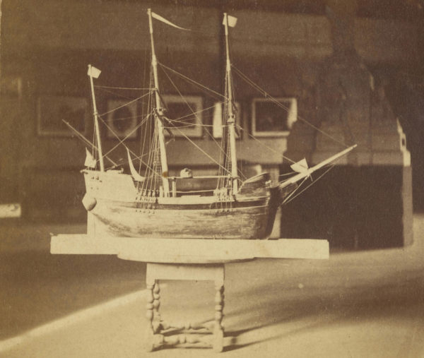 Модель корабля Mayflower