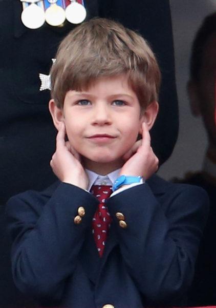 Сын принца Эдвада, Джеймс, виконт Северн
