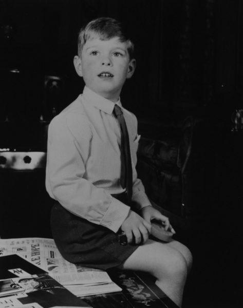 Принц Эндрю, герцог Йоркский в детстве