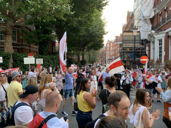 Митинг сторонников Светланы Тихановской