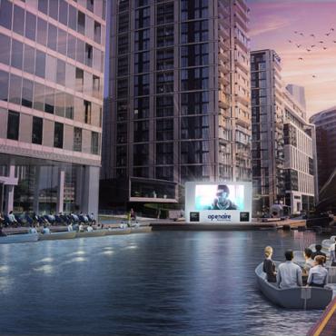 Посмотреть «Титаник» налодке: вЛондоне откроется плавучий кинотеатр