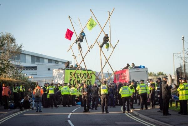 Экоактивисты Extinction Rebellion