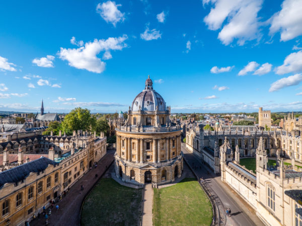 View of Oxford University