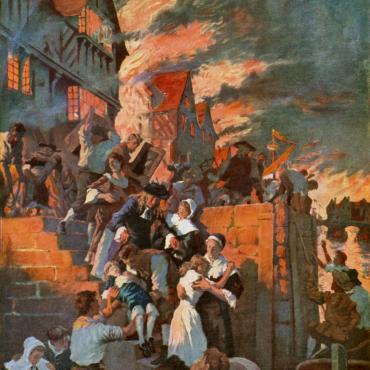 Великий лондонский пожар: катастрофа, которая преобразила город