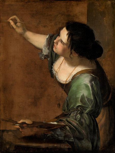 Автопортрет в образе аллегории Живописи