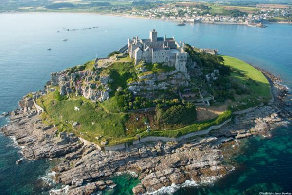 Сент-Майкл - замок на острове