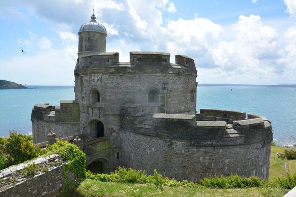 Крошечная тюдоровская крепость Сент-Моз