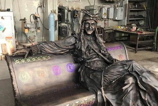 Скульптора Ирины Лагошиной - Баба-яга