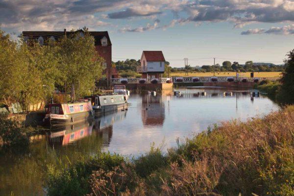 River Avon at Tewkesbury