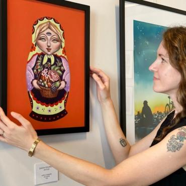 В Лондоне открылась первая выставка русскоязычных женщин-художниц