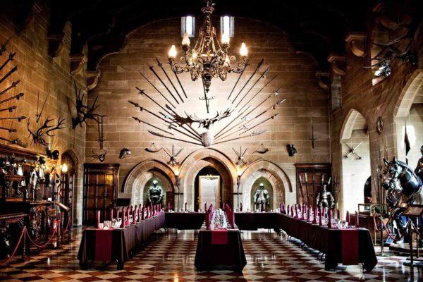 Главный парадный зал Уорикского замка