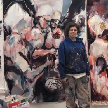 Художница Катя Гранова – о ярмарке современного искусства в галерее Саатчи и новых работах