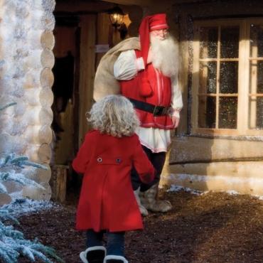 ТОП-7 мест, где можно встретиться с Санта-Клаусомэтой зимой