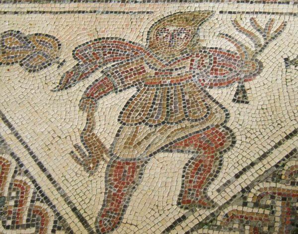 Древнеримский хлебороб – мозаики виллы в Чедворте