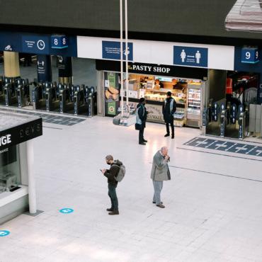 Локдаун 2.0. Фотогалерея: как выглядит Лондон на карантине
