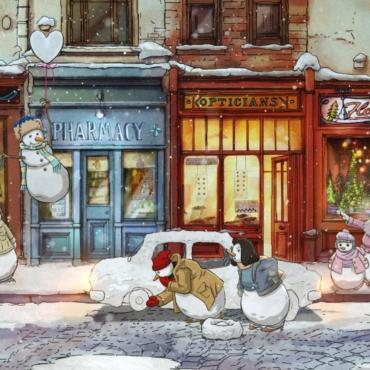 Илья Гончаров. Милые (и не очень) рождественские ролики 2020 года
