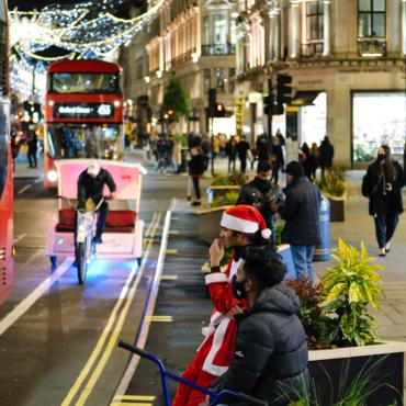 Фотогалерея. Лондон накануне Нового года