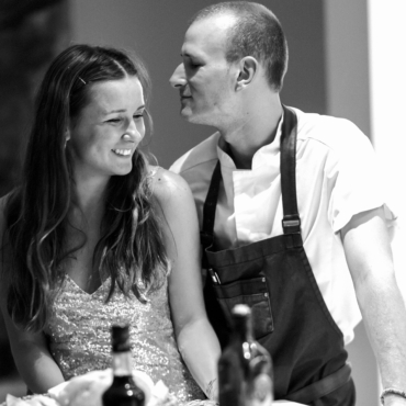Игорь и Лаура Сапеги — шеф-повар и создательница онлайн-журнала для глухих