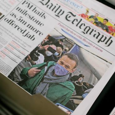 Британская пресса — о возвращении и аресте Алексея Навального