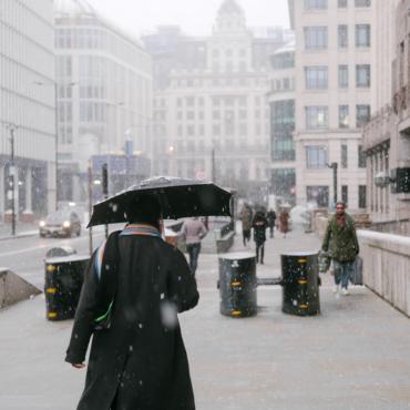 Посмотрите, как выглядел Лондон в эти выходные (спойлер: в столице выпал снег)